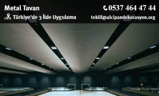 Metal Tavan Uygulama